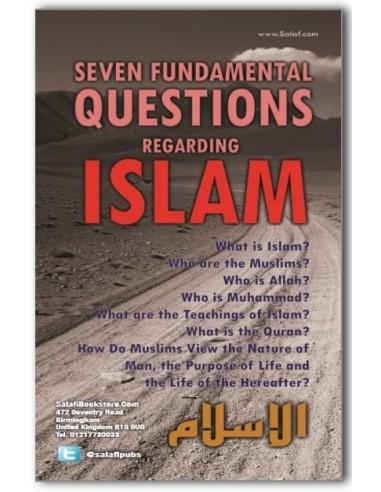 Seven Fundamental Questions Regarding Islam