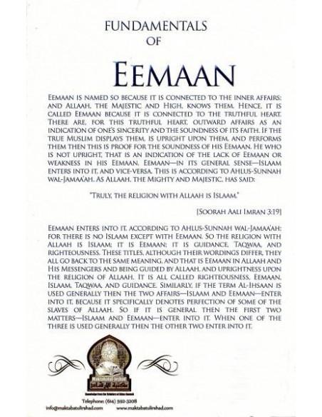 FUNDAMENTALS OF EEMAAN