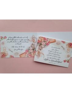 Huwelijksfelicitatie wenskaart