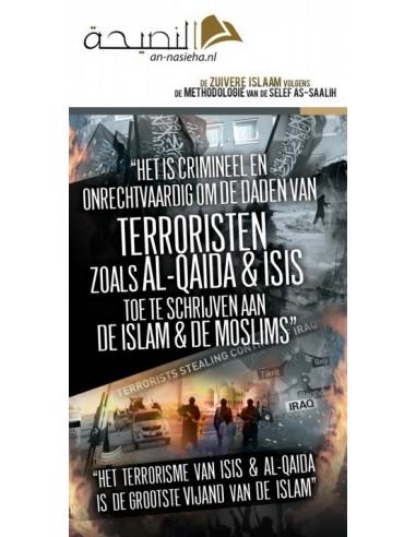Onrechtvaardig om terroristen toe te schrijven aan Islam & Moslims