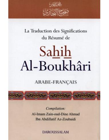 la traduction des significations du resume de sahih al boukhari