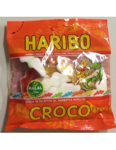 Halal Haribo Croco 100 Gram