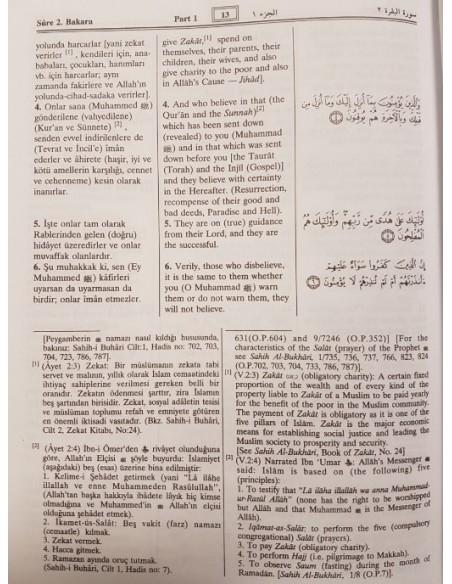 Kur'an-ı Kerim'in meali (çevirisi) ve tefsiri (açıklaması)