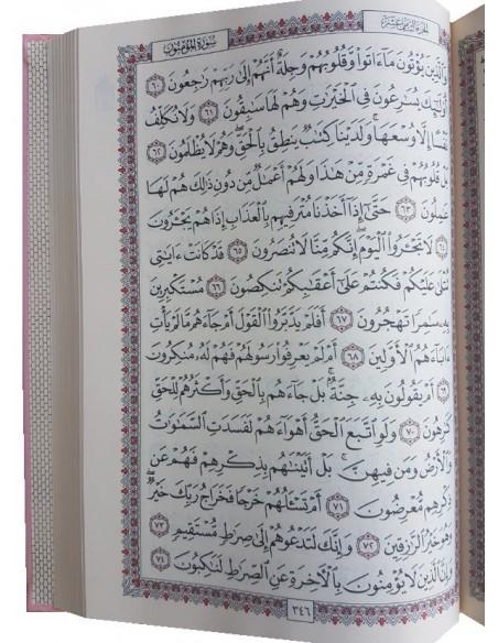 Koran A4 Roze Kaft