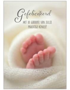 Gefeliciteerd met Geboorte van jullie prachte kindje