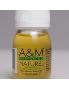 Argan olie glazen fles - 30ml