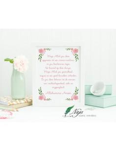 Dua kind 'flowers' - Fotolijst