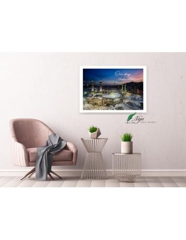 Mekka Hadj- Groot fotolijst