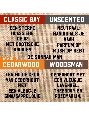 Orange Cedarwood Baard Verzorging Pakket!