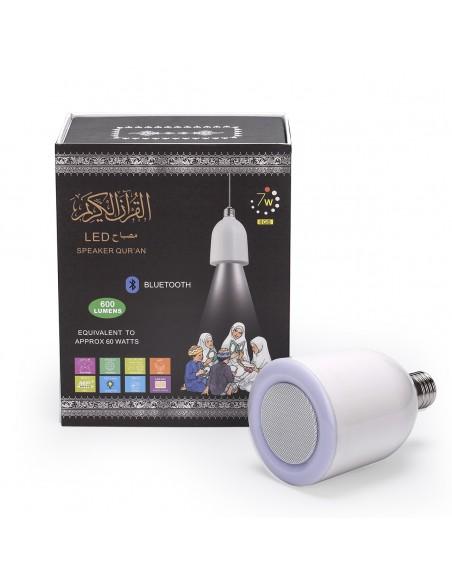Koran lamp met LED speakers