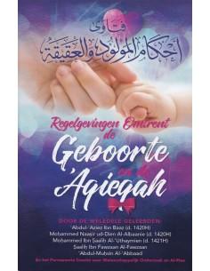 Regelgevingen omtrent de Geboorte en de 'Aqieqah