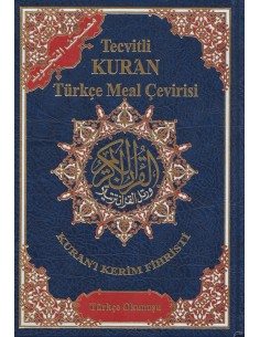 Koran tajweed met Turkse vertaling