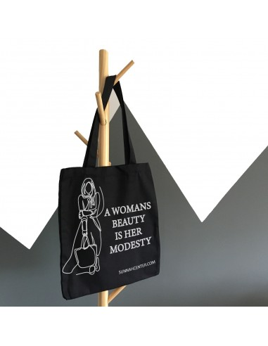 A womans beauty is her modesty bag