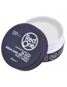 Red One Black Aqua Hair Gel Wax 150 ml