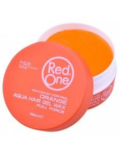 Red One Gel Aqua Hair Full Force Orange 150 ml