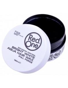 Red One White Maximum Control Bright Aqua Hair Wax Full Force 150 ml