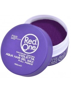 Red One Violetta Aqua Hair Gel Wax 150 ml