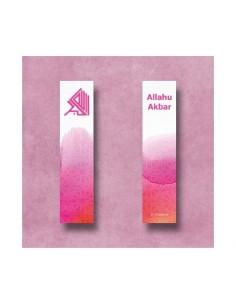 Boekenlegger Allahu Akbar