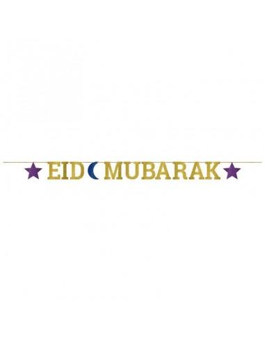 Letter Banner Eid Glitter 365 cm