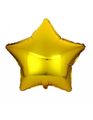 Ballon Ster Goud Groot