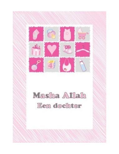 Wenskaart Geboorte Meisje - Masha...