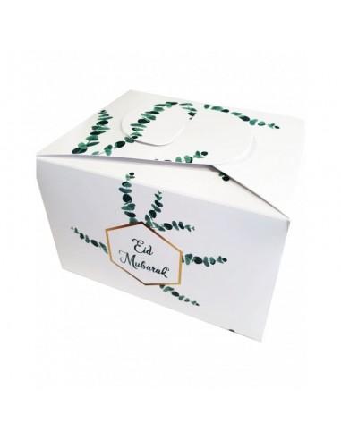 Koekjes/chocolade doosjes - eucalyptus