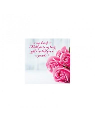 Wenskaart Dearest Rose
