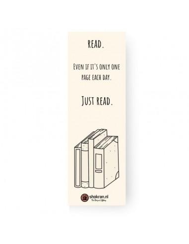 Boekenlegger – Just Read