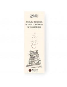 Boekenlegger – Reminder.