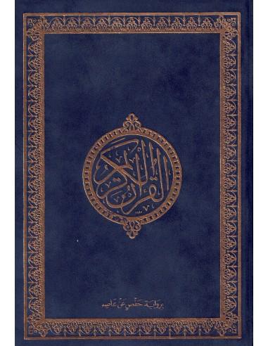 Koran blauw (Suede)