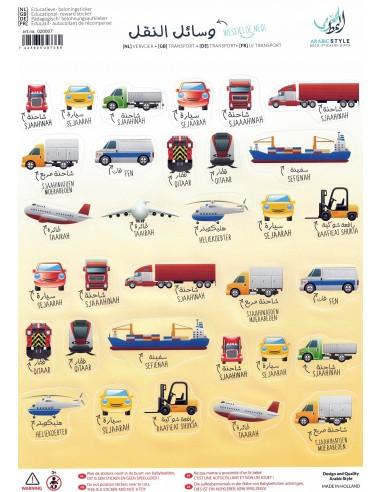 Beloningsticker - Vervoer