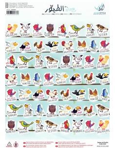 Beloningsticker - Vogels