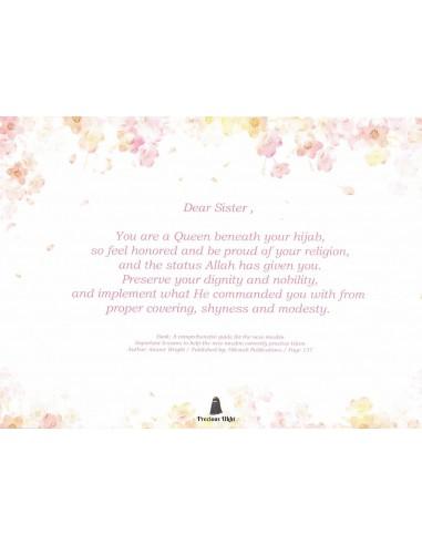 Dear sister - Wenskaart