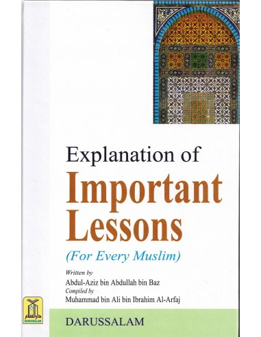Explanation of Important Lessons (for...