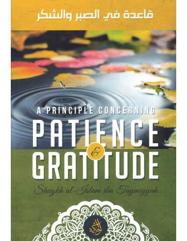 A Principle Concerning Patience &...
