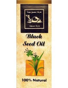 Zwarte zaad olie