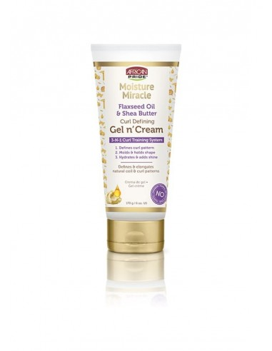 Flaxseed Oil & Shea Butter Gel N' Cream