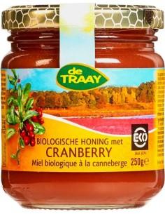 Honing met cranberry 250 gram