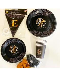 Eid Decoratie Set – Zwart