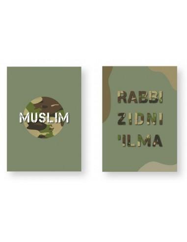 Rabbi zidni 'ilma en muslim A4...
