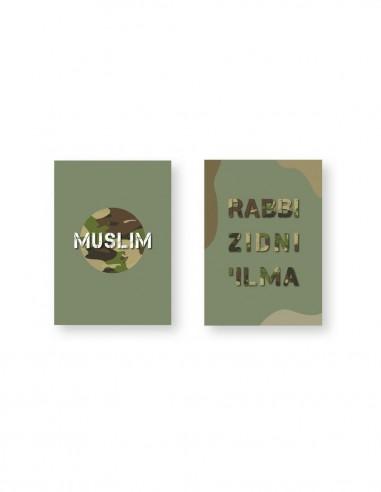 Rabbi zidni 'ilma en muslim A5...