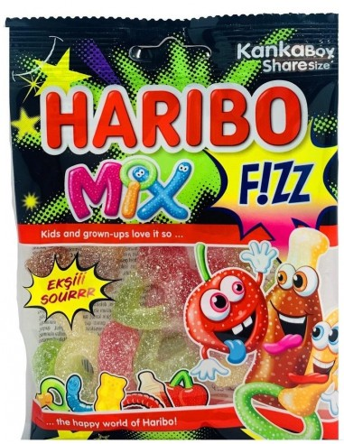 Haribo Mix fizz 70gr
