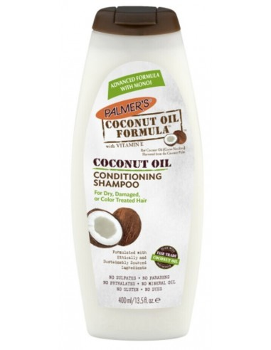 Palmer's coconut oil conditioning...