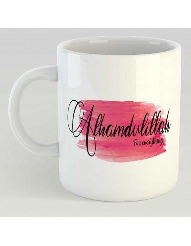 Alhamdulilah Rood / Roze - Mok