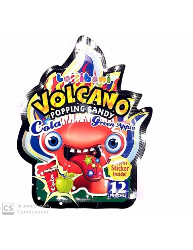 Volcano Popping candy
