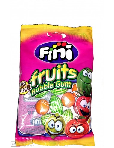 Fruits bubble gum