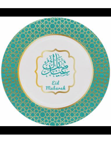 Eid Mubarak Bordjes Goud/Groen