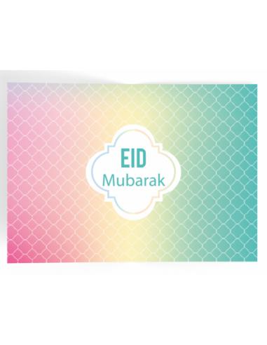 Eid Placemat pastel