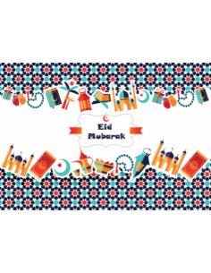 Eid Mubarak Placemats (6...