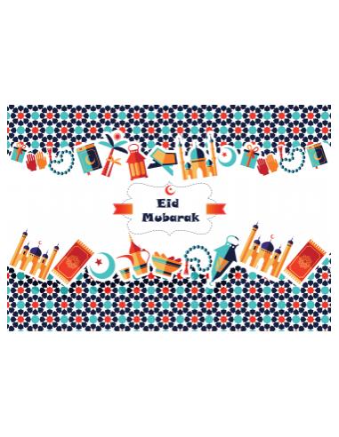 Eid Mubarak Placemats (6 stuks)